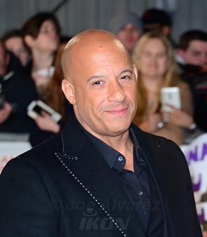 Vin Diesel XXX Alexander Cage Premiere in London © Joe Alvarez