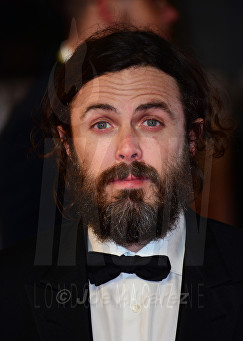 Casey Affleck at Royal BAFTA 2017 © Joe Alvarez
