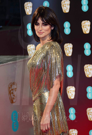 Penelope Cruz at Royal BAFTA 2017 © Joe Alvarez