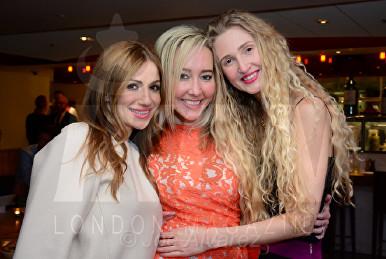 Teo Lloyd, Beth Jones, Tamara Orlova-Alvarez Bar Boulud © Joe Alvarez