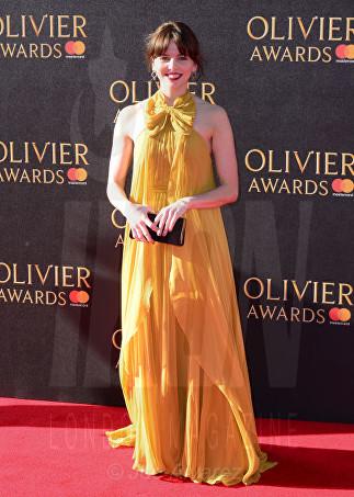 Ophelia Lovibond Laurence Olivier Awards 2017 © Joe Alvarez 983