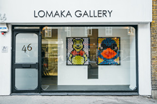 Olga Lomaka gallery launch