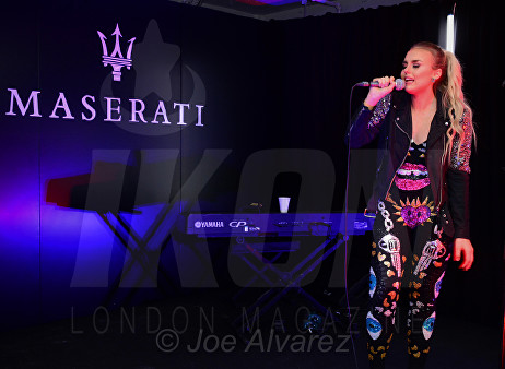 Tallia Storm Maserati Levante Launch © Joe Alvarez