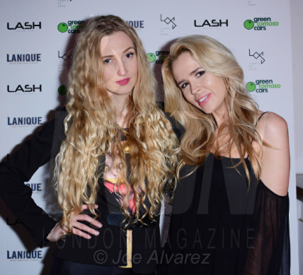 Tamara Orlova-Alvarez, Olivia Arben Lash Unlimited party © Joe Alvarez