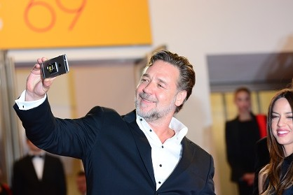 Russell Crowe at the 69th Cannes Film Festival © Joe Alvarez