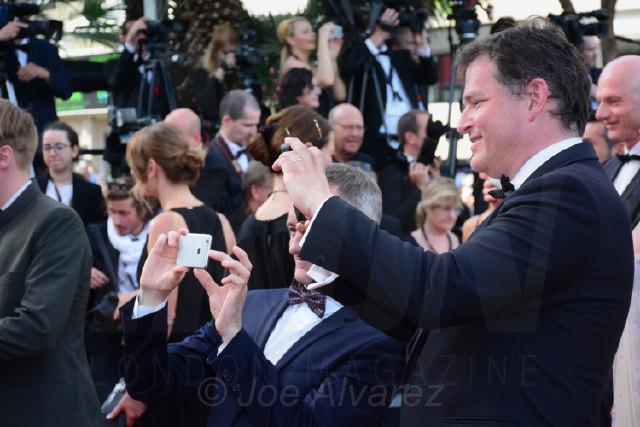 Salfies on the red carpet Cannes Film festival 2017 © Joe Alvarez