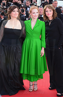 Jessica Chastain The Meyerowitz film premiere Cannes Film Festival © Joe Alvarez