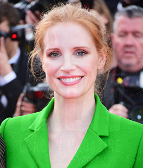 Jessica Chastain The Meyerowitz film premiere Cannes Film Festival © Joe Alvarez