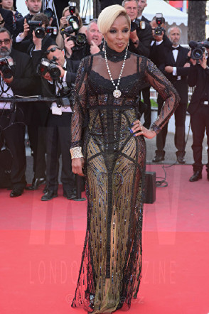 Mary J Blige The Meyerowitz film premiere Cannes Film Festival © Joe Alvarez