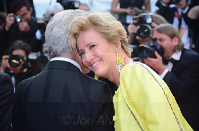 Dustin Hoffman, Emma Thompson The Meyerowitz Stories fil premiere Cannes Film Festival © Joe Alvarez