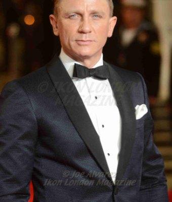 "Daniel Craig attends the premiere of James Bond sequel ""Skyfall"" at Royal Albert Hall. © Joe Alvarez"