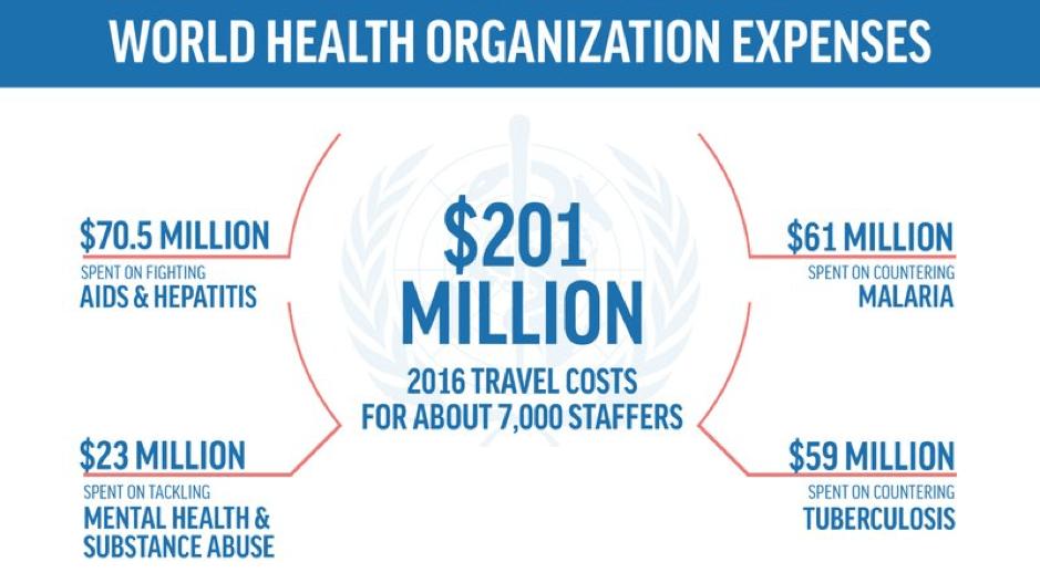World Health Organisation Spending Scandal WHO spending scandal