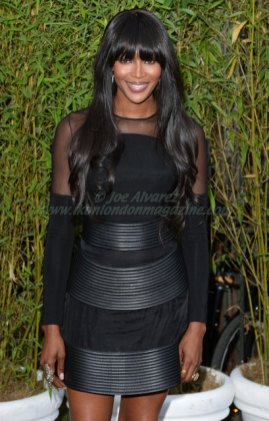 Naomi Campbell attends the Serpentine Gallery Summer Party © Joe Alvarez