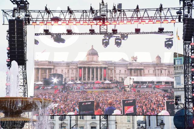 Formula 1 at Trafalgar square London © Joe Alvarez