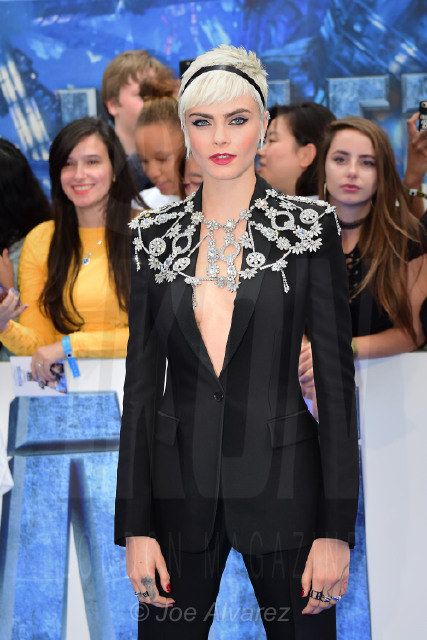 Cara Delevingne Valerian and The City of a Thousand Planets Premiere © Joe Alvarez