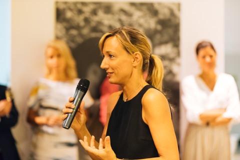 Acqua di Parma CEO, Laura Burdese, launching Colonia Pura in London