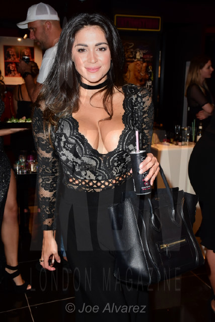 Casey Batchelor at Ann Summers Party © JOE ALVAREZ 2017