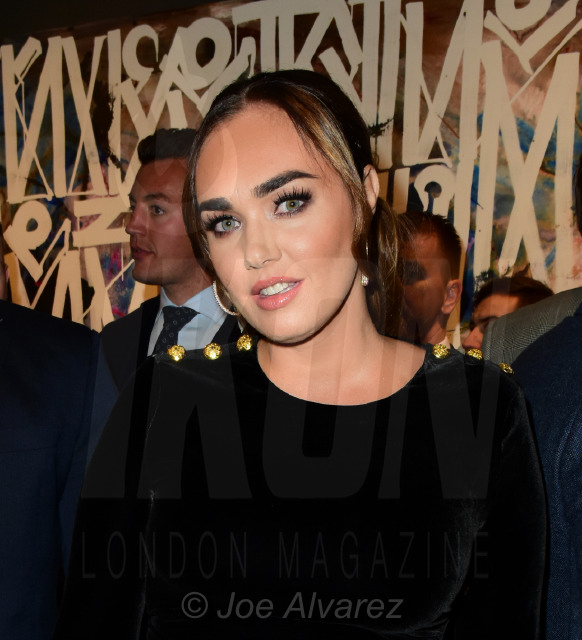 Tamara Ecclestone at the RETNA Maddox Gallery Private View © Joe Alvarez