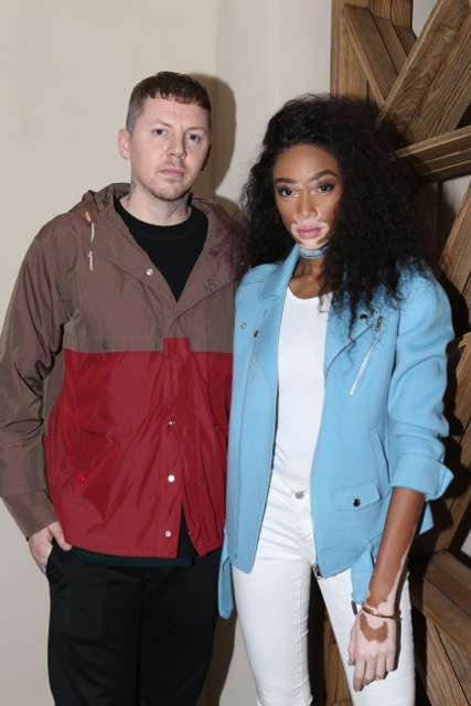 Professor Green and Winnie Harlow Cantina Laredo Launch Party