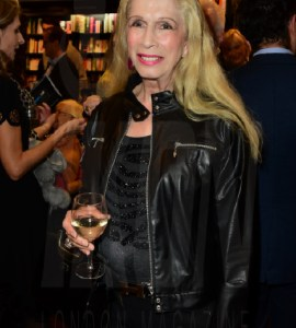 Lady Colin Campbell at Princess Olga Romanov's book launch © Joe Alvarez