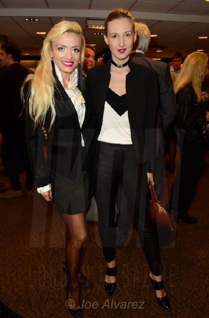 Lana Holloway and Tamara Orlova-Alvarez at Princess Olga Romanov's book launch © Joe Alvarez