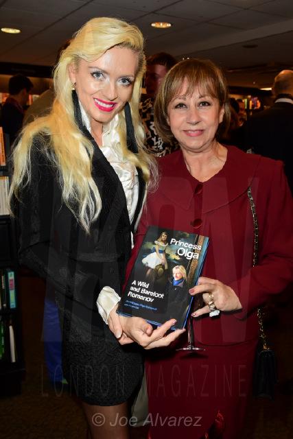 Lana Holloway and Guest at Princess Olga Romanov's book launch © Joe Alvarez