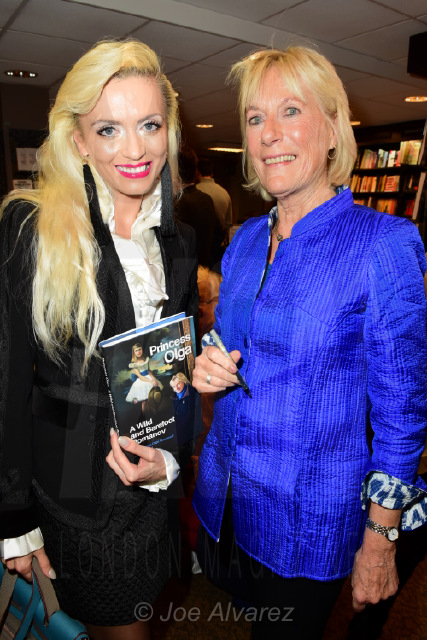 Lana Holloway and Princess Olga Romanov's book launch © Joe Alvarez
