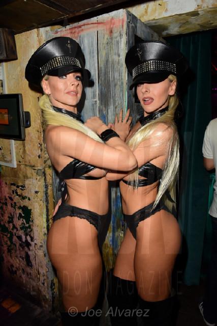 Dancers Entertainment at Tonteria 5th anniversary party © Joe Alvarez
