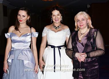 Marina Alyabusheva, Helena Bubnova Russian Debutante Ball 2016 © Joe Alvarez