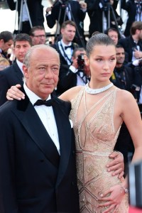 Bella Hadid, Fawaz Gruosi at Cannes Film Festival Opening