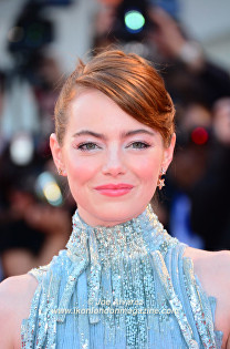 Emma Stone La La Land world premiere at the Venice Film Festival © Joe Alvarez