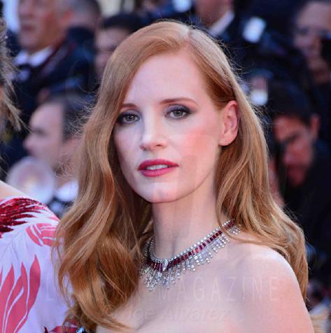 Jessica Chastain Cannes Film festival 2017 Opening night © Joe Alvarez