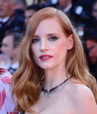 Jessica Chastain Cannes Film festival 2017 Opening night © Joe Alvarez