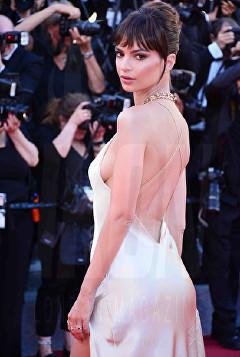 Emily Ratajkowski Cannes Film Festival 2017 Opening Night © Joe Alvarez