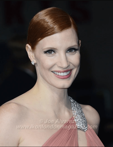 Jessica Chastain at the World Premiere of Interstellar © Joe Alvarez