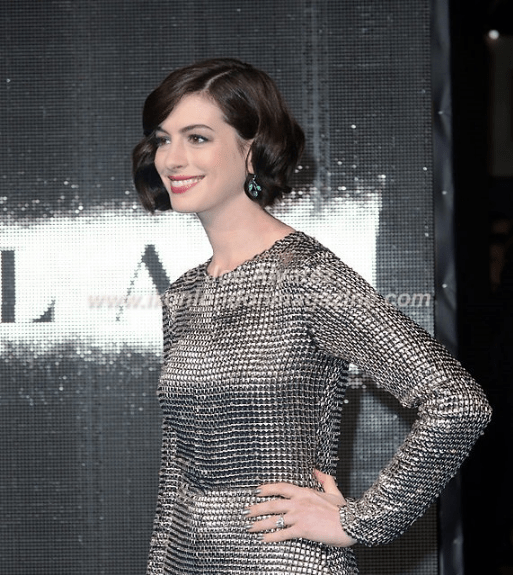 Anne Hathaway at the World Premiere of Interstellar © Joe Alvarez