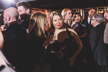 Yana Maksimochkina Carbon Champagne Launch UK