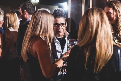 Joe Alvarez and Guests Carbon Champagne Launch UK