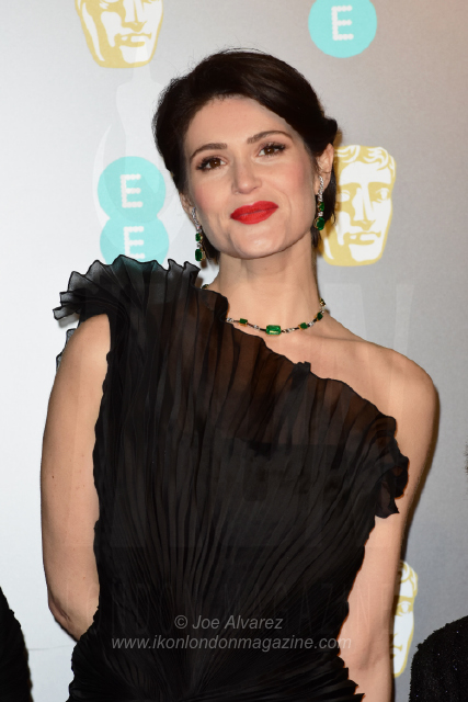 Gemma Arterton The BAFTAS arrivals © Joe Alvarez 14004
