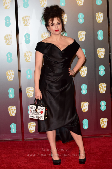 Helena Bonham Carter EE BAFTAs 2018 arrivals © Joe Alvarez