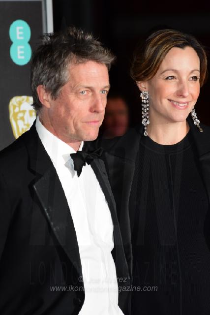 Hugh Grant The BAFTAS arrivals © Joe Alvarez 13997