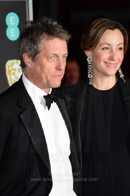 Hugh Grant The BAFTAS arrivals © Joe Alvarez 13997