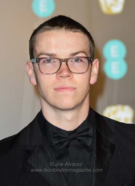 Will Poulter The BAFTAS arrivals 14136 copy