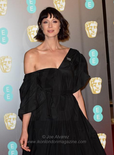 Caitriona Balfe EE BAFTAs 2018 arrivals © Joe Alvarez