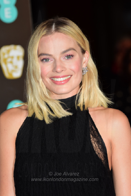 Margot Robbie The BAFTAS arrivals © Joe Alvarez 13921