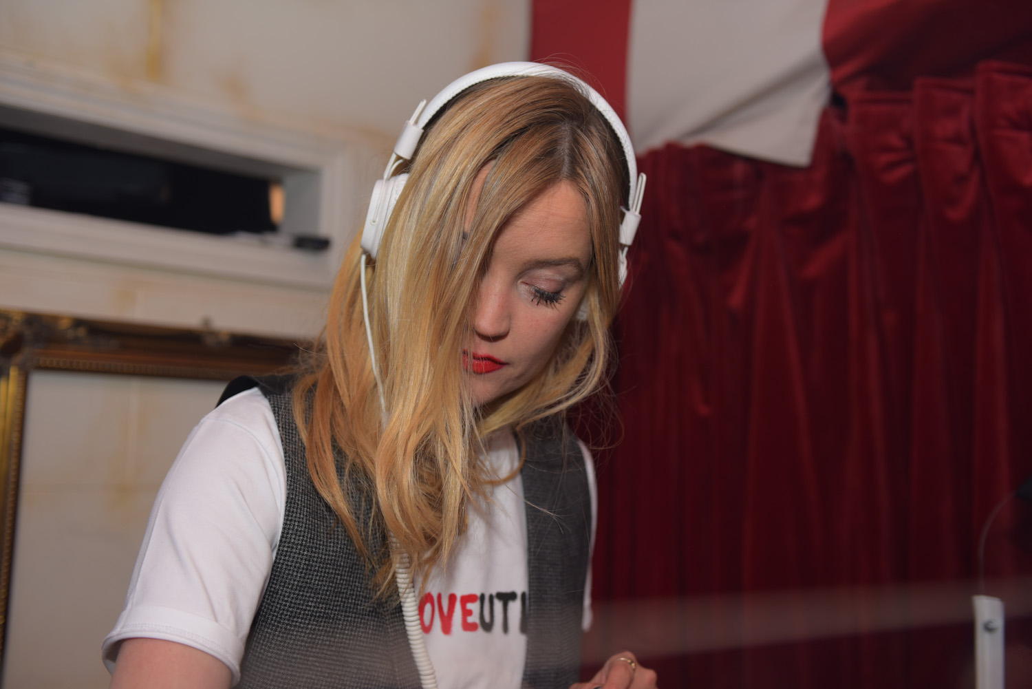 Laura Whitmore DJ at the Bunga Bunga Covent Garden 1st Anniversary Party