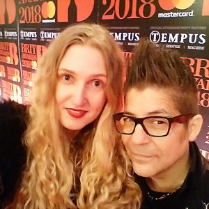 Tamara A Orlova and Joe Alvarez at BRITs 2018