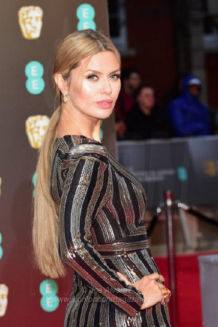 Victoria Bonya The BAFTAS arrivals © Joe Alvarez 14057