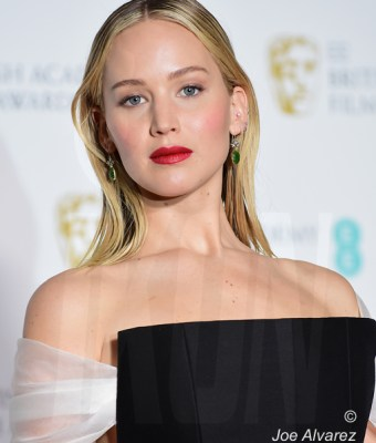 Jennifer Lawrence BAFTAS 2018 © JOE ALVAREZ