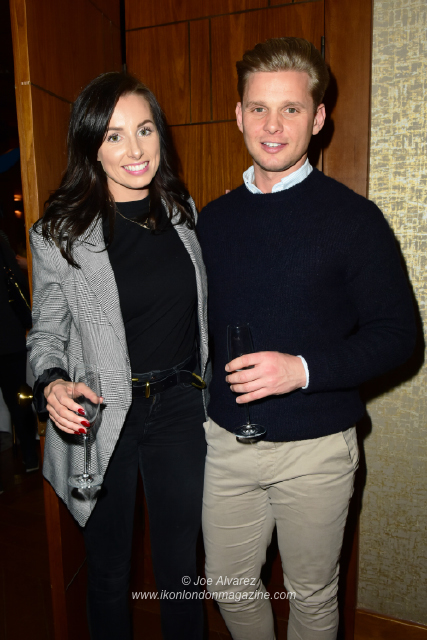 Jeff Brazier with his new partner Kate Dwyer Anna Williamson book launch Breaking Mum and Dad © Joe Alvarez